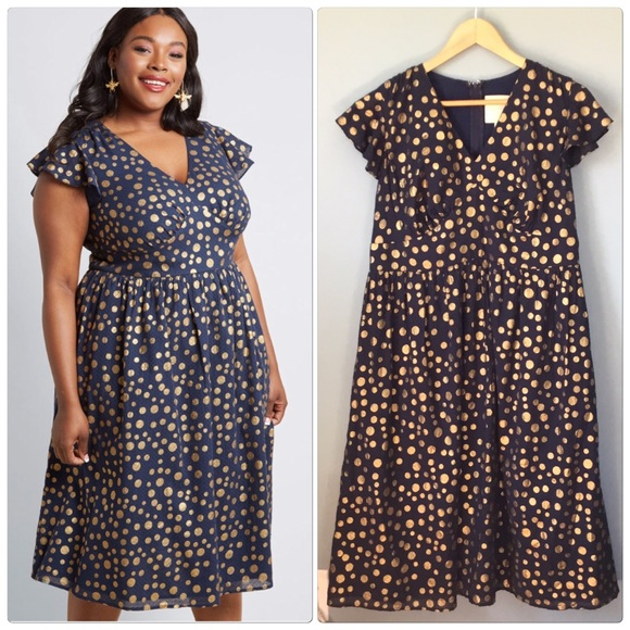 2be063d9aedd ModCloth Truly You Plus Size Short Sleeve Dress. M_5c8ec8d13c9844e12a4147f9